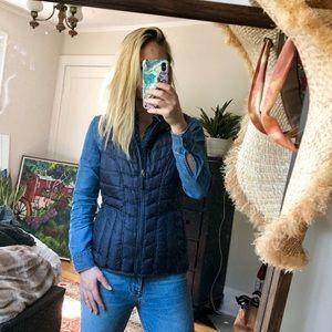 Athleta navy/grayish vest